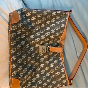 Dooney and Bourke over the shoulder tote
